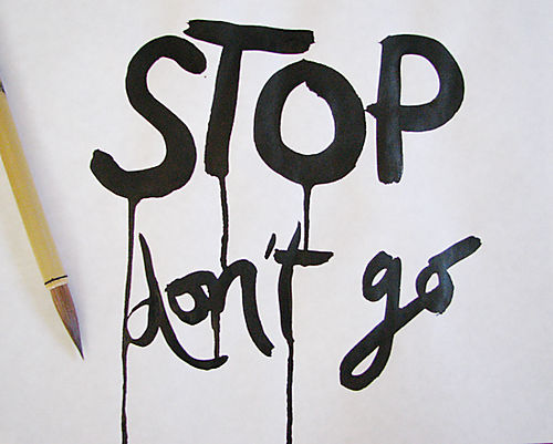 Stop-don't-go