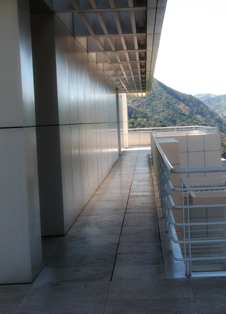 Corridor at Getty