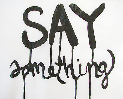 Say-something