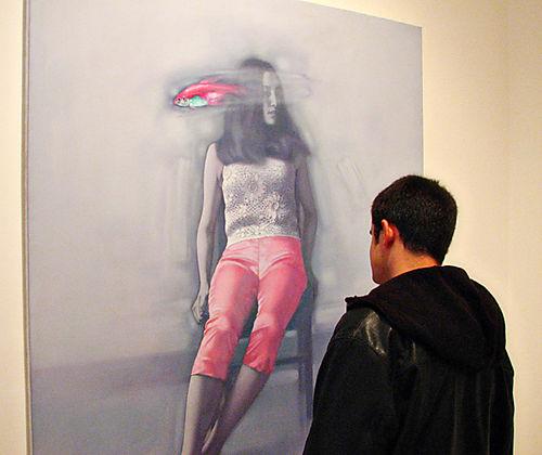 Liu Bolin by Jennifer Jeffrey